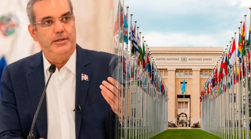 Abinader expone hoy ideas para solución a problemática de Haití en su discurso ante la ONU