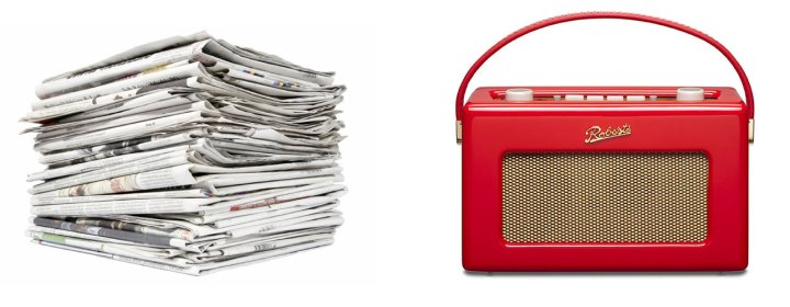 newspaper-and-radio