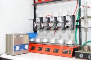 Modernes Labor in Remscheid