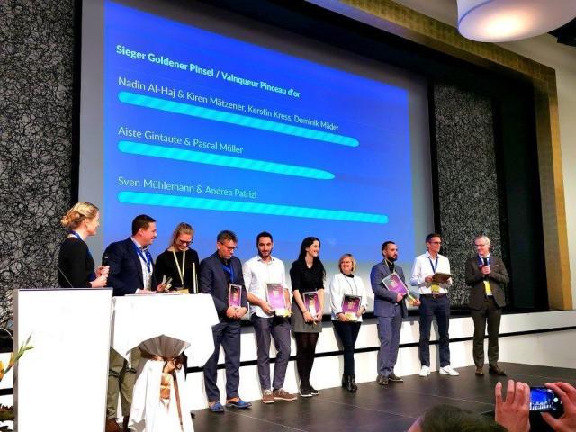 Verleihung innovativster Zahntechniker , Teilnehmer Goldener Pinsle