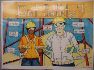 Occupational Safety And Health Art Contest Winner