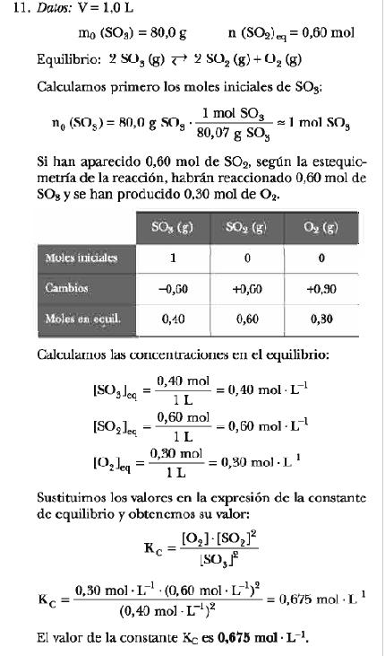 Equilibrio químico (5/6)
