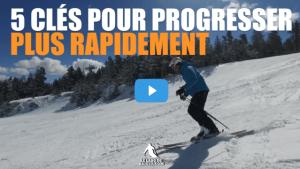 5 clés pour progresser plus rapidement en ski
