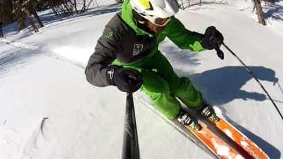 10 conseils pour bien skier en poudreuse-les batons-labo du skieur-morgan Petitniot