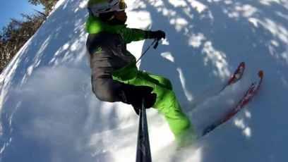 10 conseils pour bien skier en poudreuse-resister-labo du skieur-morgan Petitniot