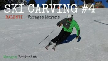 Ski carving 4 - morgan petitniot virages moyens