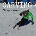 (Vidéo) Ski carving 4 : RALENTI Virages moyens – Morgan Petitniot – Pour le PLAISIR