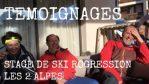 (Vidéo) Témoignages Stage de ski PROGRESSION - Les 2 Alpes - Décembre 2016