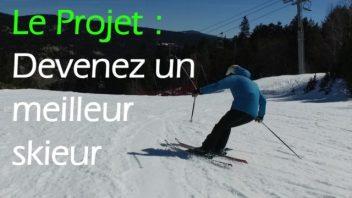 Le projet devenez un meilleur skieur