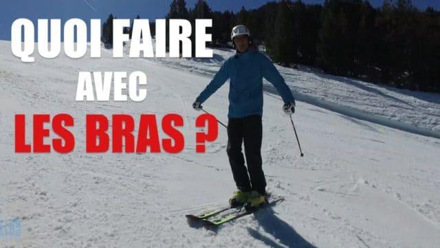 [Vidéo] Quoi faire avec les bras en ski ?
