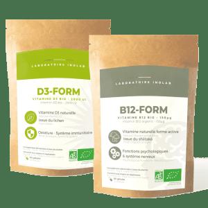 pack vitamines D3 B12