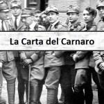 La Carta del Carnaro, costituzione massonica