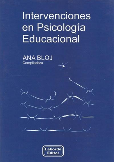 Intervenciones en Psicología Educacional