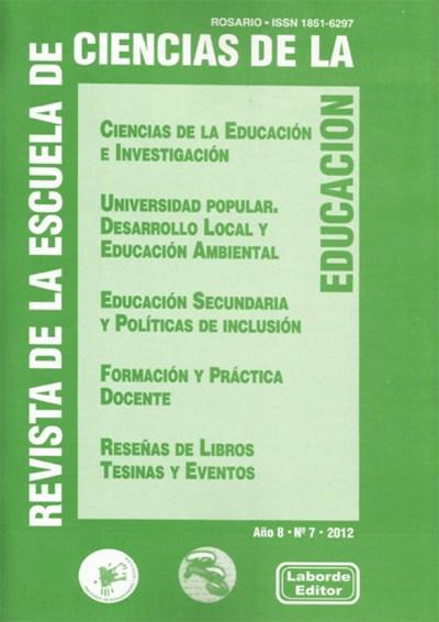 Revista de la Escuela de Ciencias de la Educación nº 7
