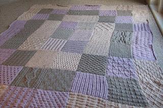 1664.- Como hacer una muestra tejida (KAL MANTA) 1