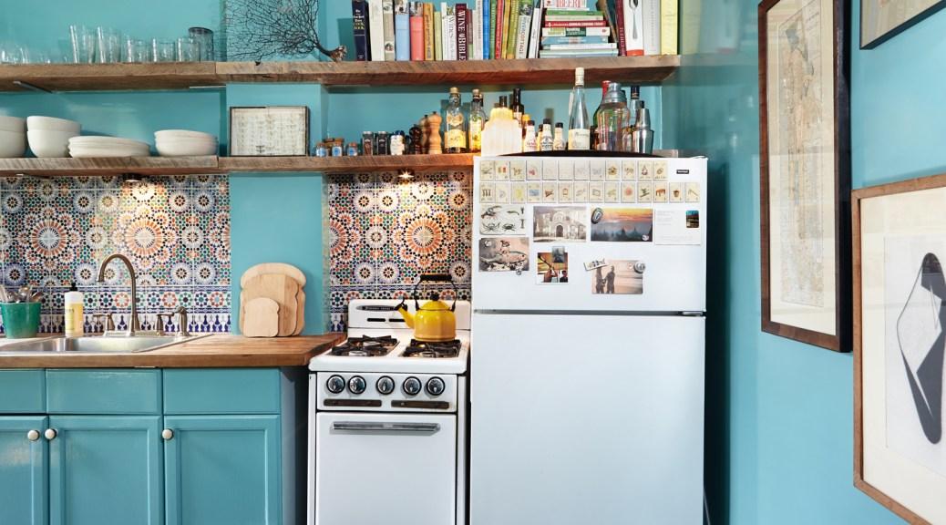 Azulejos en el frontal de la cocina