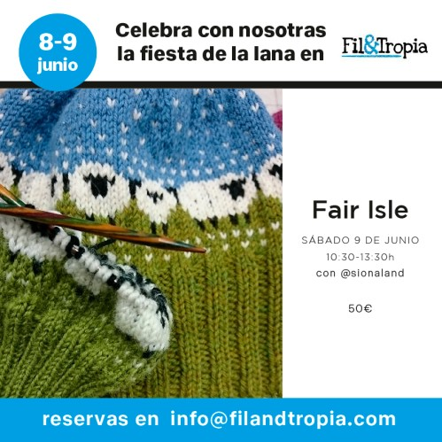 Cartel taller fair isle
