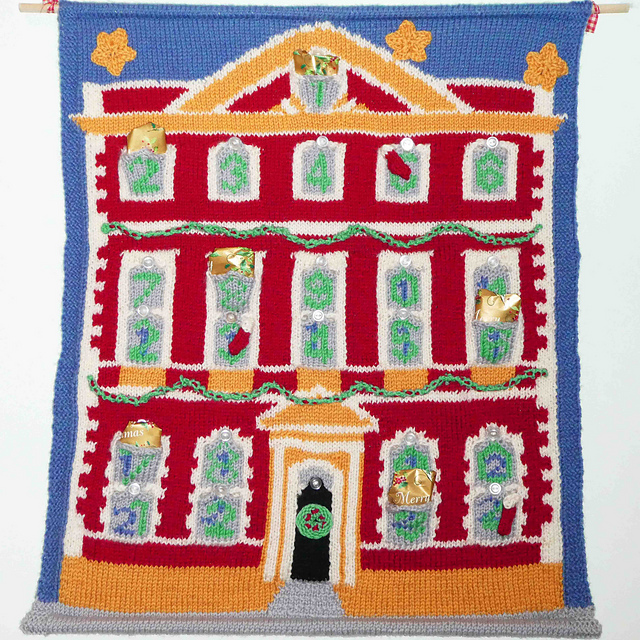 Fairfax House Advent Calendar by Mrs Buttons