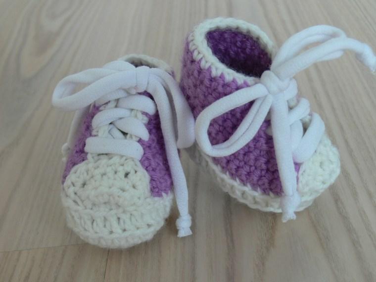scarpe ginnastica lilla