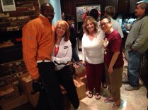 Larry and Renee Willis, with Patricia our new volunteer