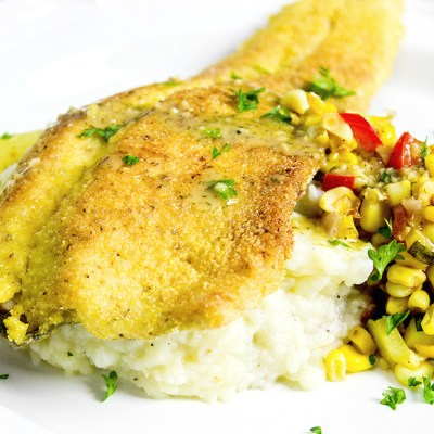 Pan Seared Rainbow Trout