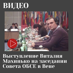 Виступ Віталія Махинька на засіданні Ради ОБСЕ у Відні
