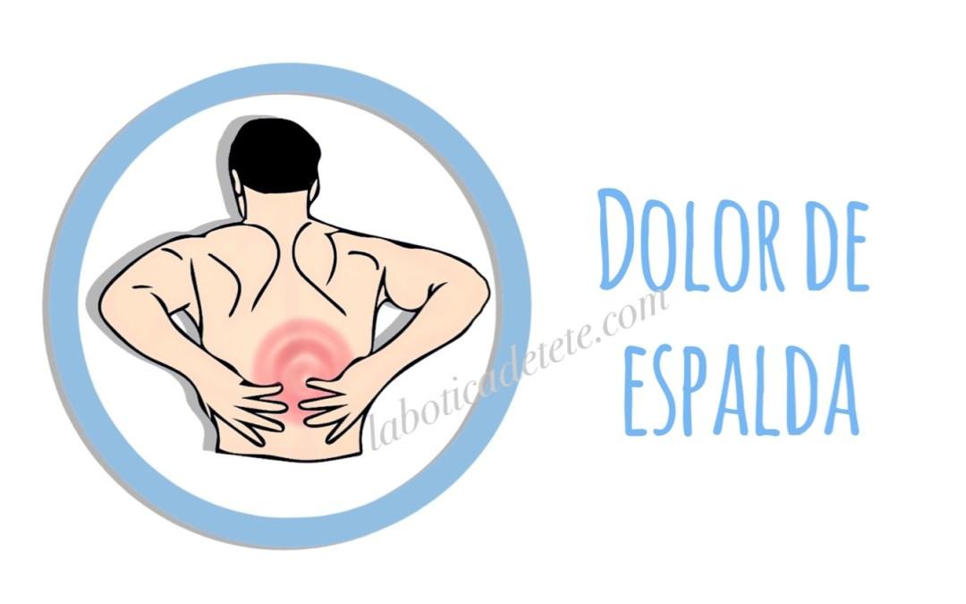 Dolor de espalda ¿Sabes cuando debes ir al médico?