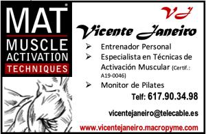 Datos de contacto Vicente Janeiro MAT specialist