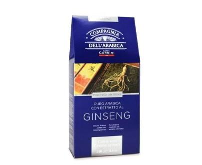 Cafea macinata cu Ginseng Corsini