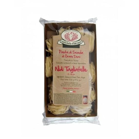 Paste Tagliatelle Nidi Grano Duro Rustichella D'Abruzzo
