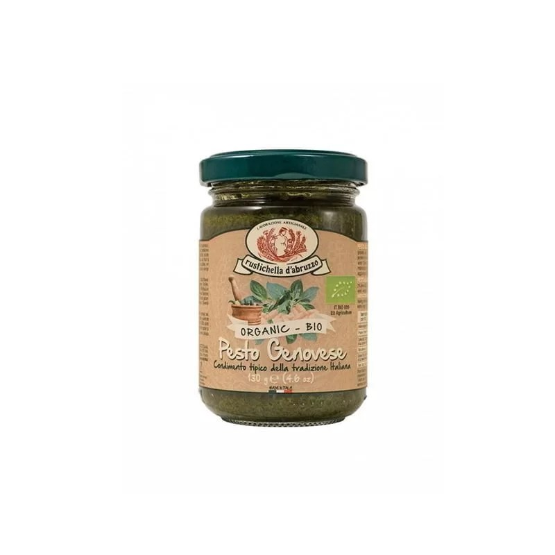 Sos Pesto Genovese Bio Rustichella D'Abruzzo