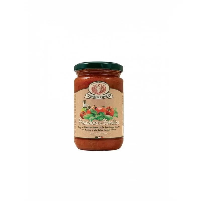 Sos Paste Rosii si Busuioc Rustichella D'Abruzzo