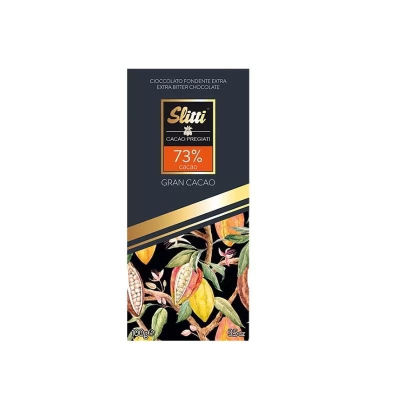 Ciocolata Neagra Gran Cacao 82% Slitti