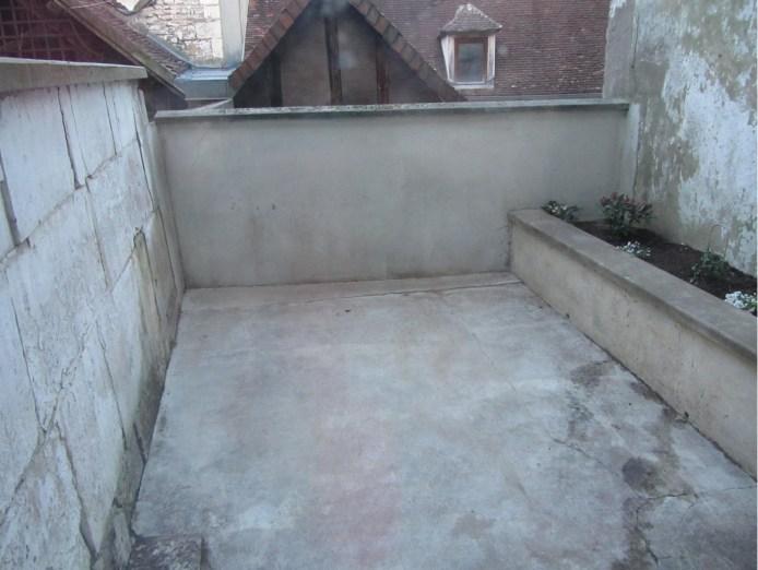 terrasse après nettoyage