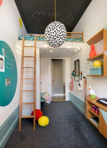 peindre plafond chambre d'enfant