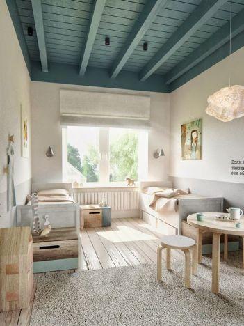 peindre plafond poutres