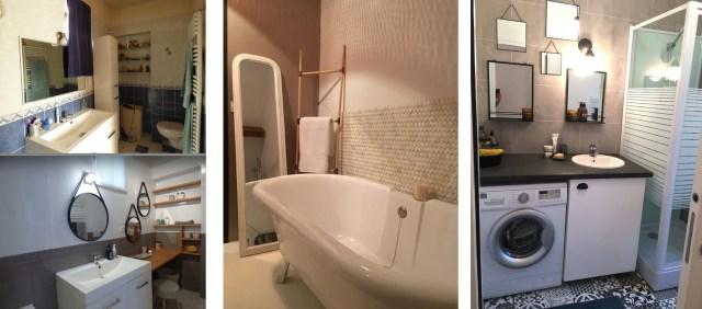 Relooker salle de bain MIROIRS