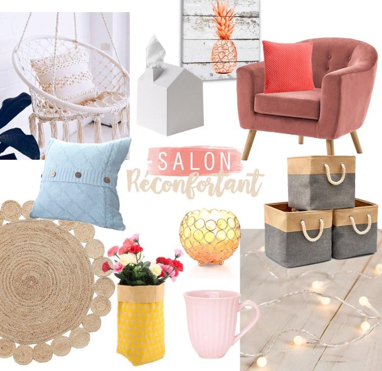 Salon cocon confort