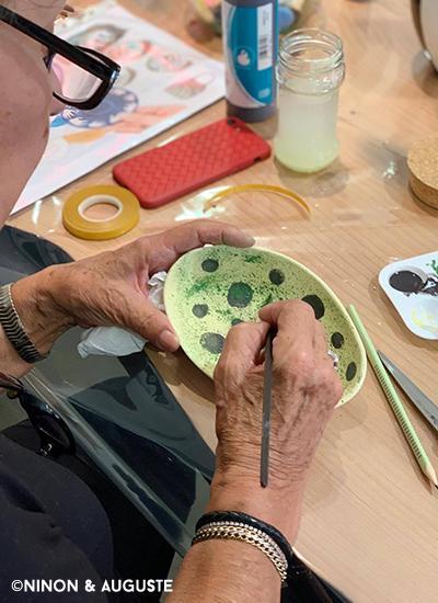 Atelier décor sur céramique4
