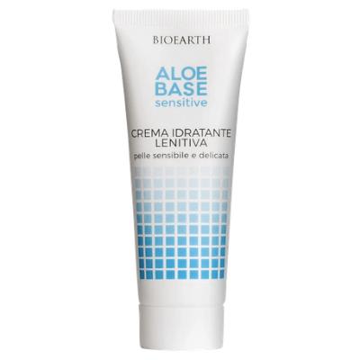Crema Idratante e Lenitiva per il viso AloeBase Bioearth