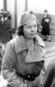 Bertha Laidler (Bertha Walker), in the early 1930s. Source: http://www.solidarityforeverbook.com/aboutauthor.html