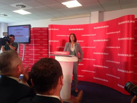 Kez Dugdale Scottish Labour