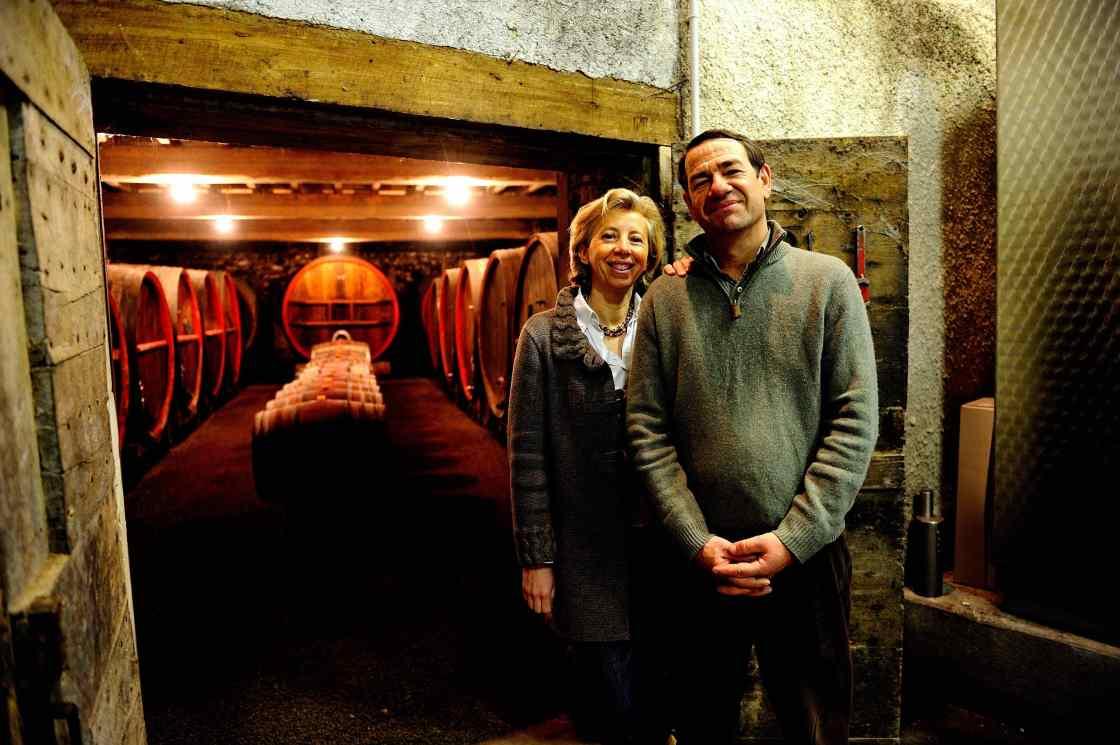 Domaine de la Bouroniere Fleurie beaujolais bourgogne vin rouge de Lescure chateau cave
