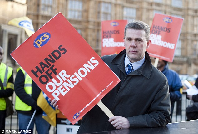 Mark Serwotka Union Leader PCS Union