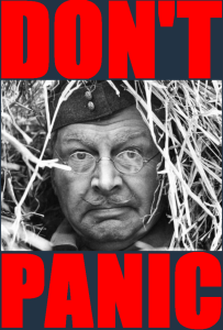 Don't Panic Jonesy. You will Set the Troops off and Panic the Natives. Cool Calm and Don't Pander to Press