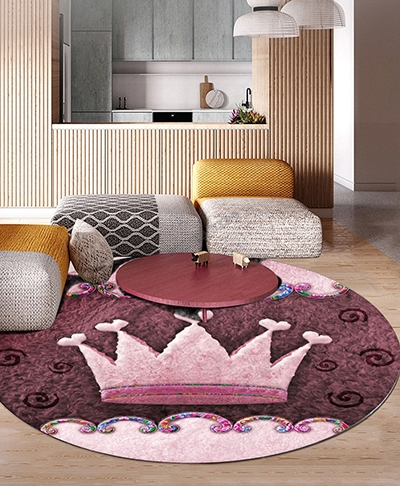 prix tapis laine personnalise chambre fille princesse reine atelier wybo