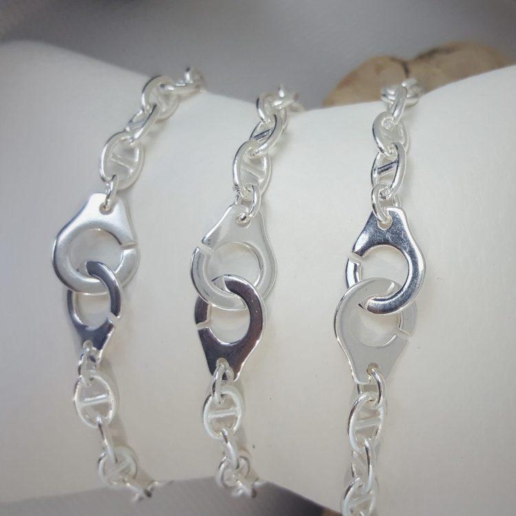bracelet chaine menottes