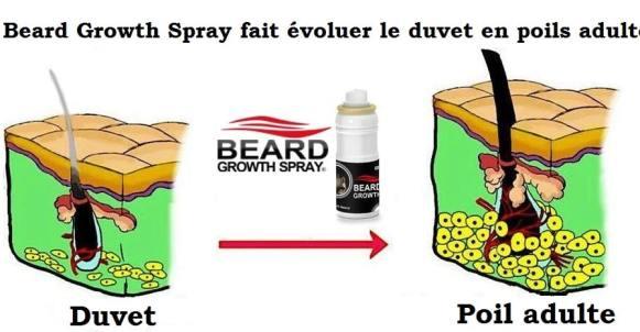 beard growthspray