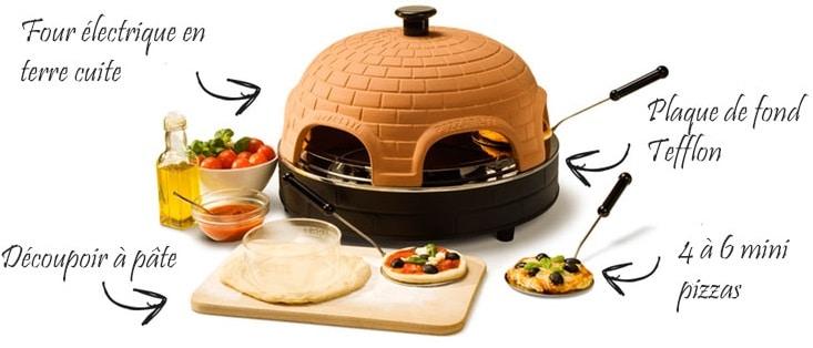 Pizzarette acheter le mini four pizza 6 personnes pas for Pizzarette 6 personnes darty