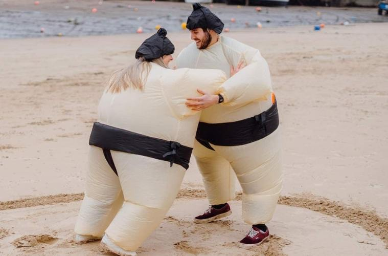 Sumo gonflable
